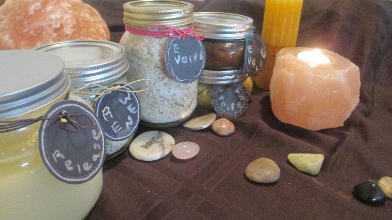 MomEvolve Spiritual Bath & Body Care